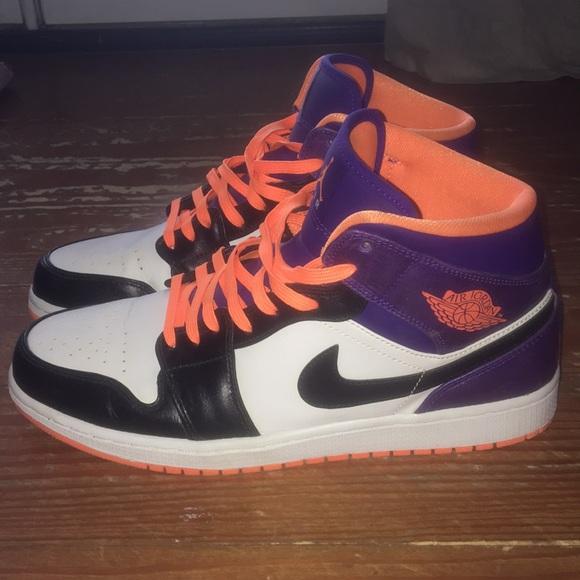 Shoes   Air Jordan 1 Mid Phoenix Suns